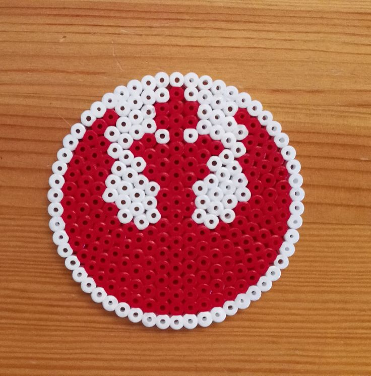 The Rebel Alliance -drink coaster from Star Wars.