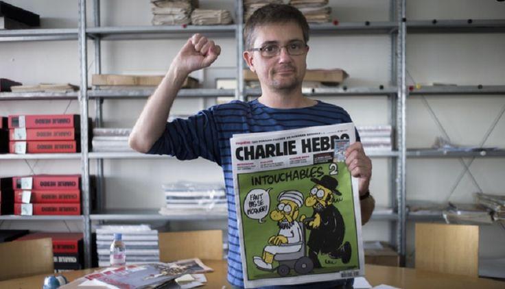 Il direttore Stéphane Charbonnier, anch'egli vittima dell'attentato