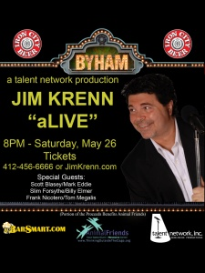 hey.. who wants 2 tickets to the Jim Krenn show on May 27th along with 2 tickets to the VIP party? Details on our FB page: http://www.facebook.com/Ya.Jagoff