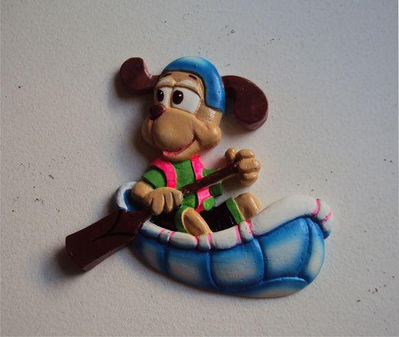 Cachorro Canoeiro Decoração Infantil
