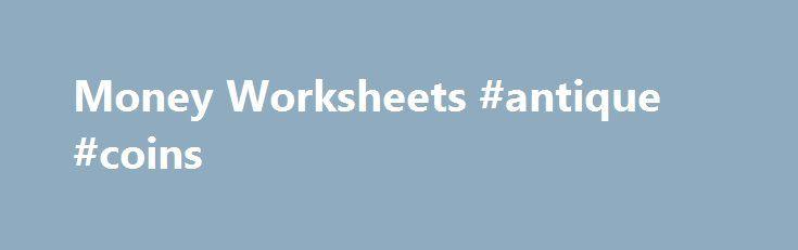 25 Best Ideas About Money Worksheets On Pinterest
