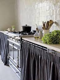 Картинки по запросу кухня со шторками вместо дверок