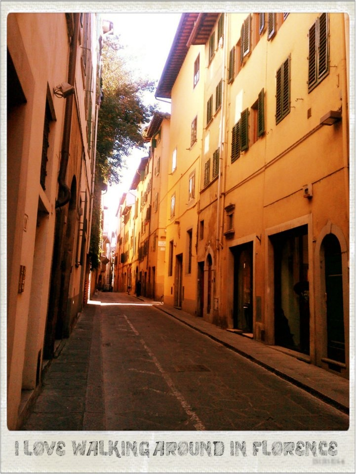 Love the narrow streets in Italy... theres always a surprise tucked away in the corner .#By Devika Narain