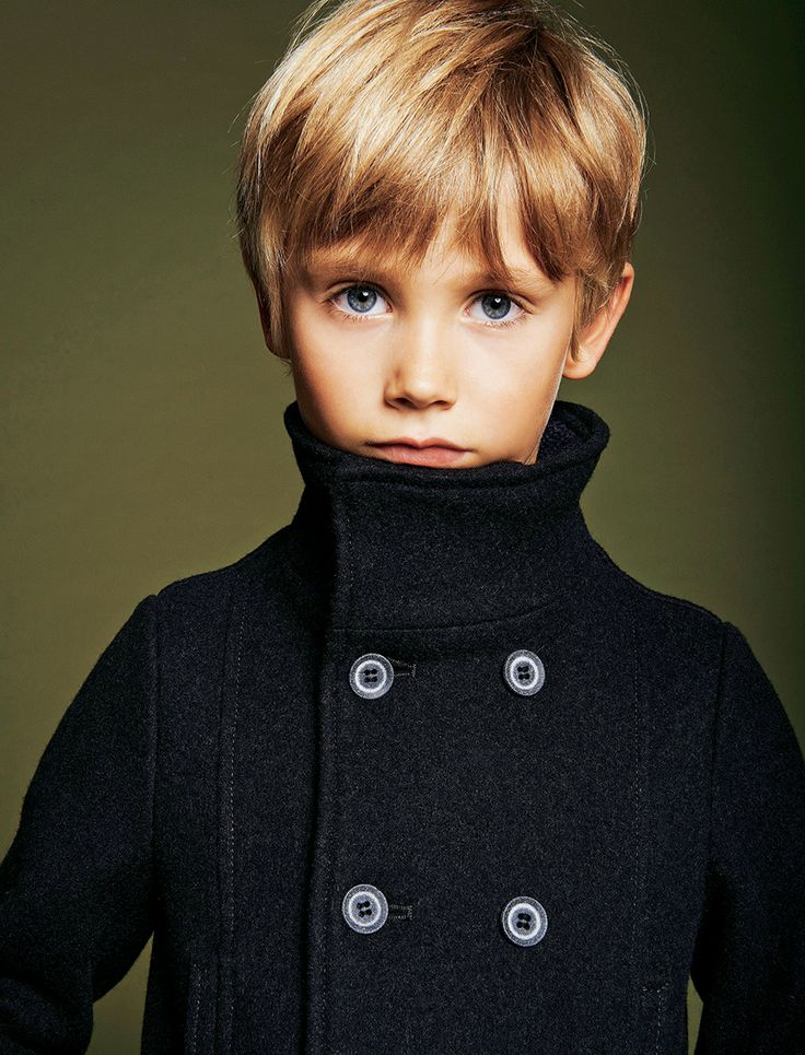 i don't know why im pinning this, its just all around the most adorable boy, haircut, and jacket! Armani Junior wool pea coat