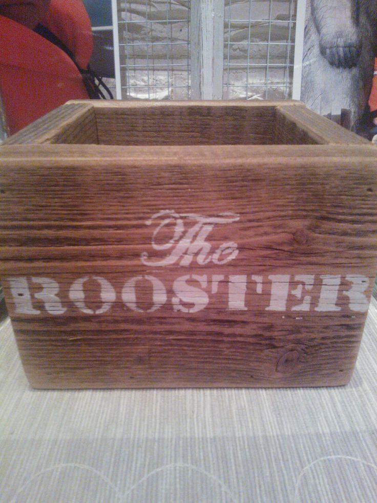 Barn wood box
