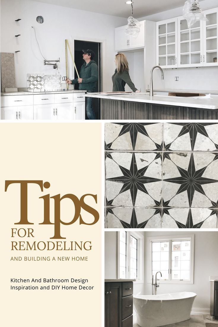 Tips for remodeling and building a new home. Home decor ideas and ...