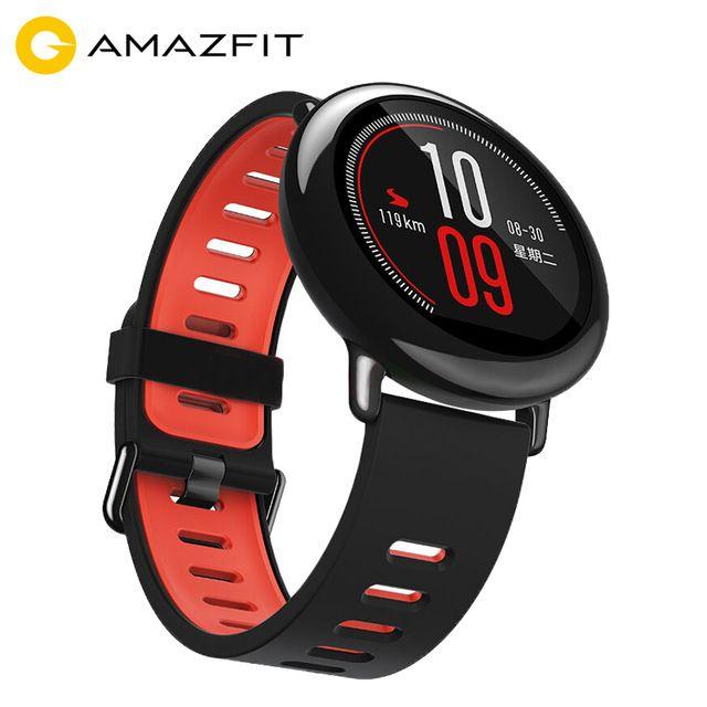 [English Version] Xiaomi Huami Watch AMAZFIT Pace Bluetooth 4.0 Sports Smart Watch Zirconia Ceramics Heart Rate Monitor