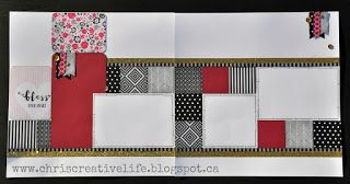 Here is your look inside my La Vie En Rose-Chris' Creative Pages