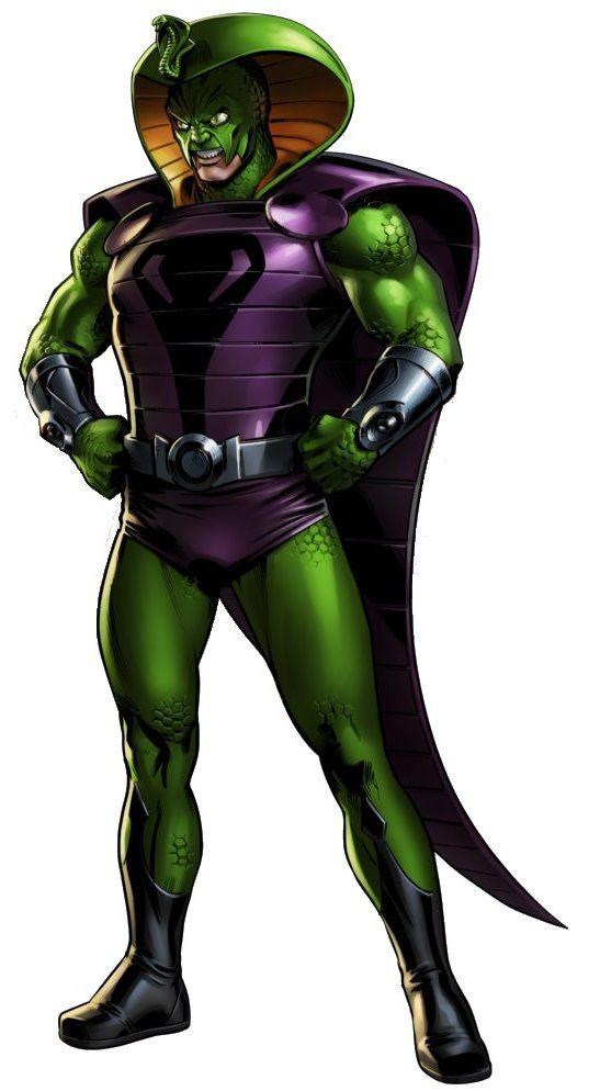 King Cobra Klaus Voorhees Marvel Ish Pinterest King