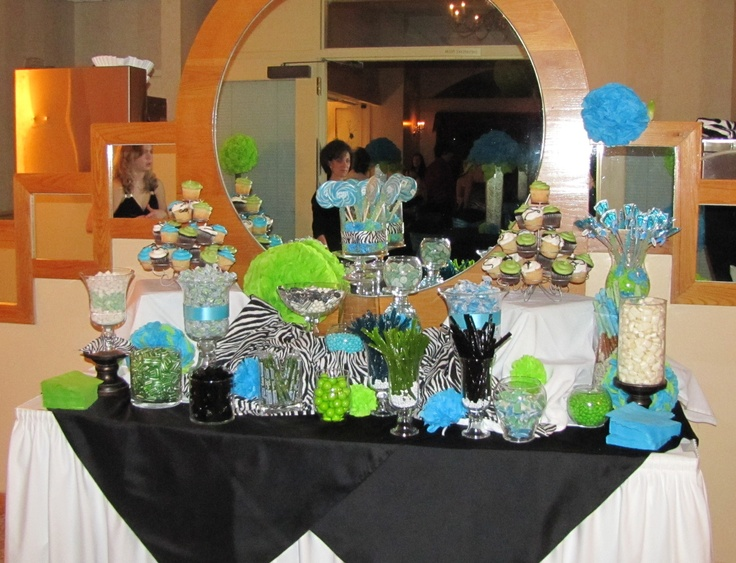 sweet 16 candy table