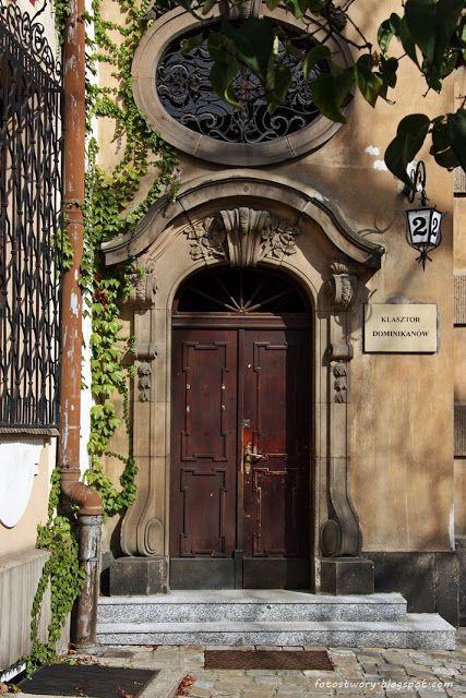door in Wrocław / Poland