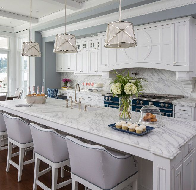 "Wall color: Sherwin Williams "" Passive SW 7064 ""  in flat finish; inset cabinets: Benjamin Moore White Heron OC-57; ceiling: Benjamin Moore"" Paper White ""  in flat finish."