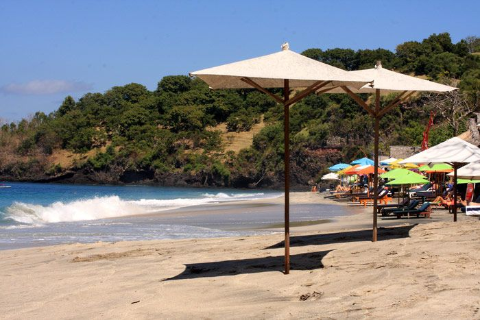 This beach is located in the east , Bali precisely in the area of Karangasem , as the name suggests is rarely visited beaches in Bali . If you want a deserted beach , the location is very fit for you .