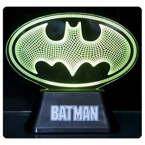 rogeriodemetrio.com: DC Comics Batman Edge Acrylic Light Lamp