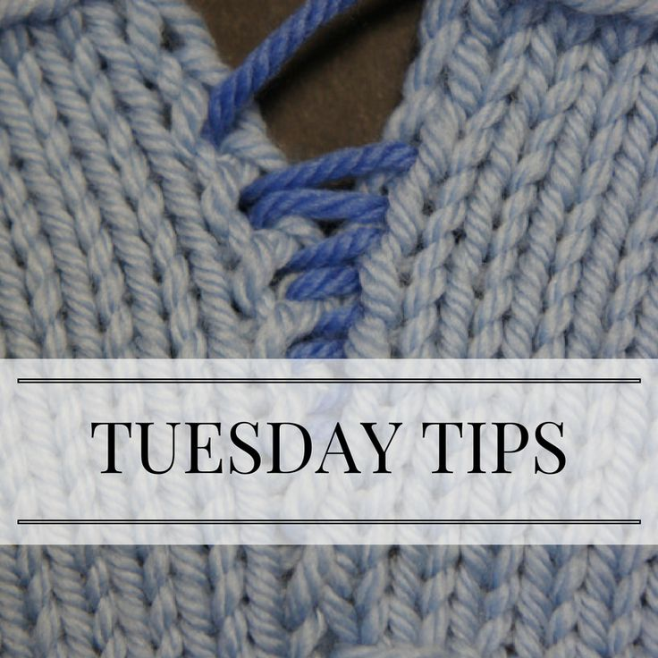 Visit my website (PattyLyons.com) for knitting tips and techniques each Tuesday.