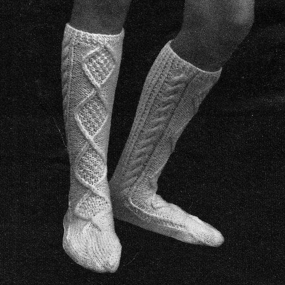 INSTANT DOWNLOAD PDF Vintage Knitting by PastPerfectPatterns