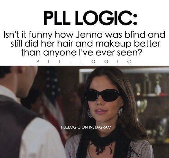 Hi Hi.. Pretty Little Liars - Logic :)