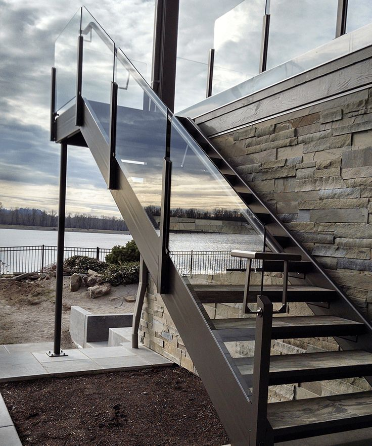 Glass Rail Glass rail is one of the most popular choices for preserving your view. We have two styles of glass rail to choose from: our standard full frame glass rail and a topless glass rail.