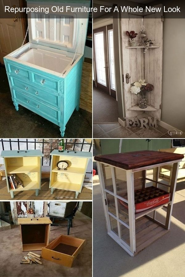 Diy Repurposed Furniture Ideas Vintage Furniture Images