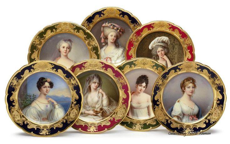 Королевская Вена - Живопись на фарфоровых тарелках. Обсуждение на LiveInternet - Российский Сервис Онлайн-Дневников