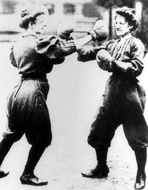 Женский бокс, Олимпийские игры в Сент-Луисе, 1904 г.