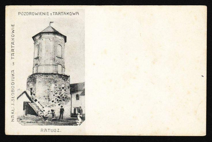 Tartaków Kresy - Ratusz ok. 1900 czysta