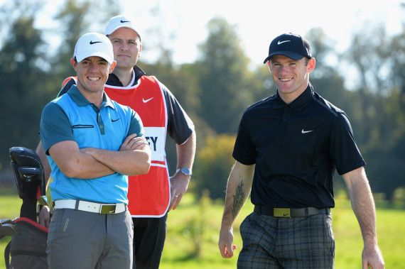 Nike ad: Wayne Rooney and Rory Mcllroy