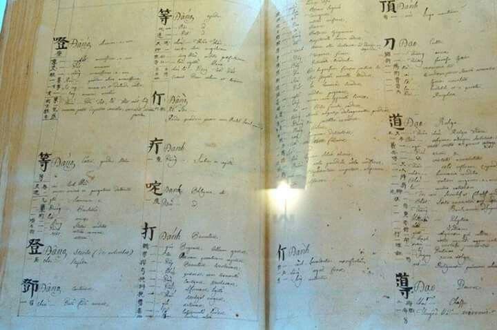 Từ điển Viet-Latinh của Bá Đa Lộc (cha cả) Viet-Latin dictionary of Pigneau de Behaine