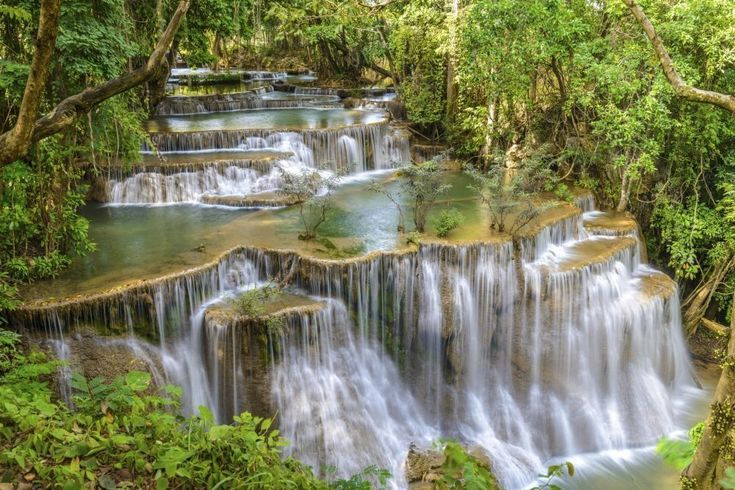 De mooiste plekken op aarde (deel 2): Erawan National Park in Thailand