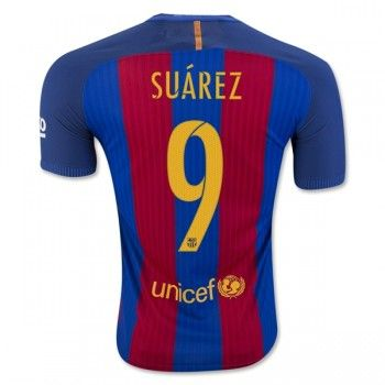 Barcelona 16-17 Luis Suarez 9 Hemmatröja Kortärmad   #Billiga  #fotbollströjor