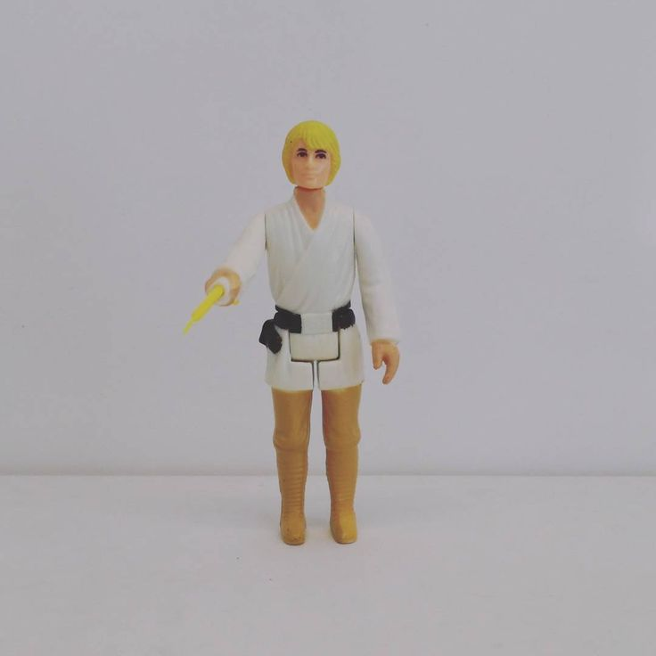 Luke Skywalker Farmboy (1977) Una nueva esperanza. A New Hope. Episode IV. Star Wars. The First 12 Figures of Kenner. Vintage.