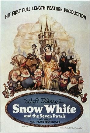 Snow White and the Seven Dwarfs, Movie Poster