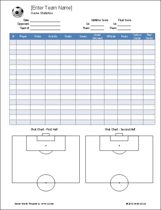 17 Best images about Soccer – Coaching Plan Template
