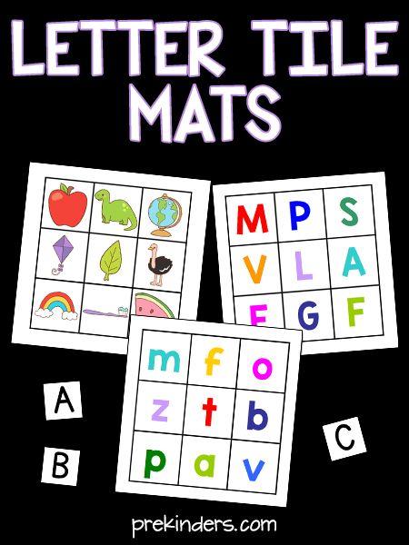 Letter Tile Mats
