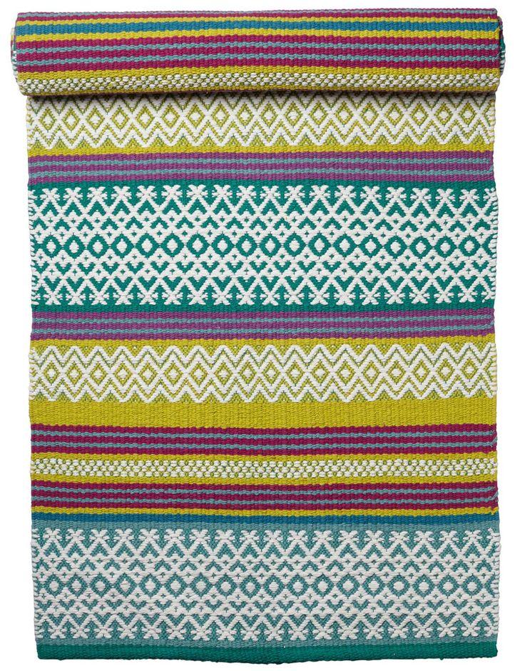 UMED matta grön | Textile rug | TextileRug | Mattor | Home | INDISKA Shop Online