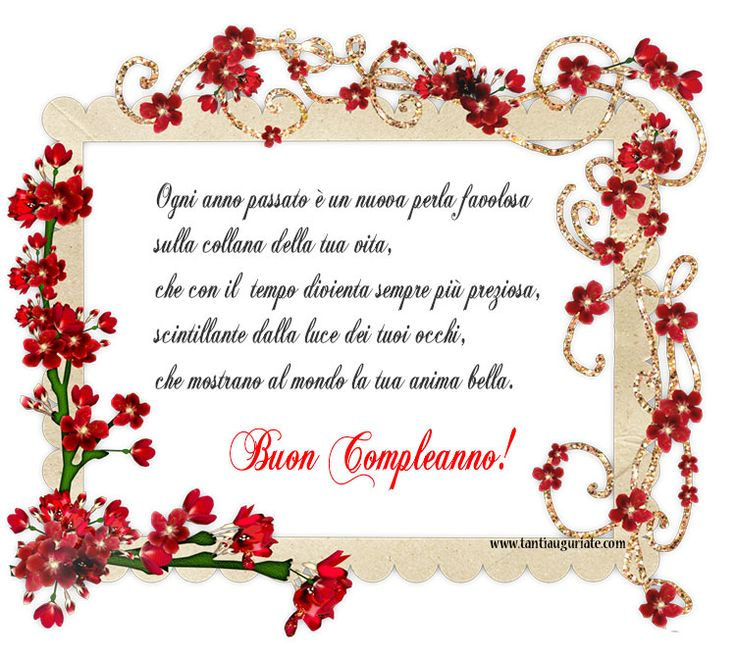 Extrêmement 24 best Buon compleanno images on Pinterest | Happy birthday  QF69