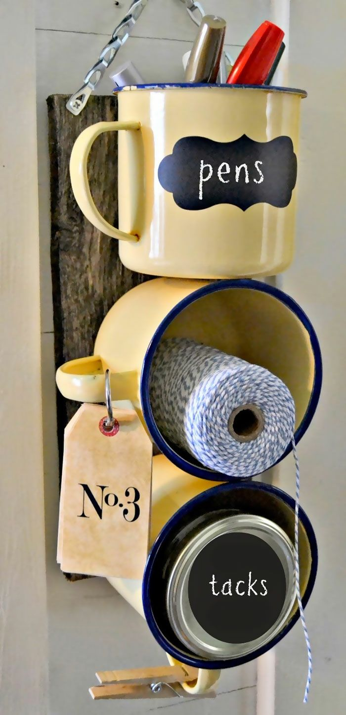 Coole Bastelideen DIY bastelideen alte küchenkrams aufbewahrung