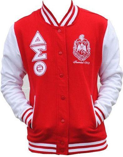 Delta Sigma Theta jacket fleece GFJKB Delta sigma