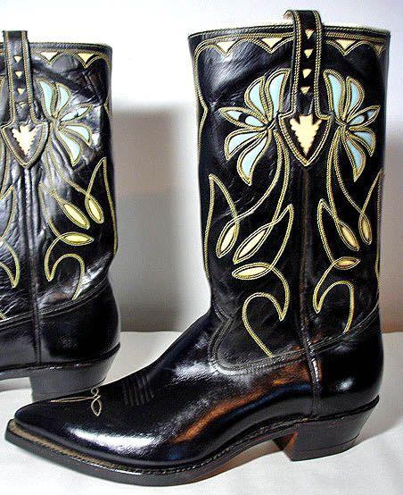 1950er Jahre ACME Cowboystiefel