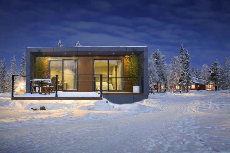 Una vivienda prefabricada moderna pensada para personas que buscan un aspecto diferenciador e innovador al mejor precio.