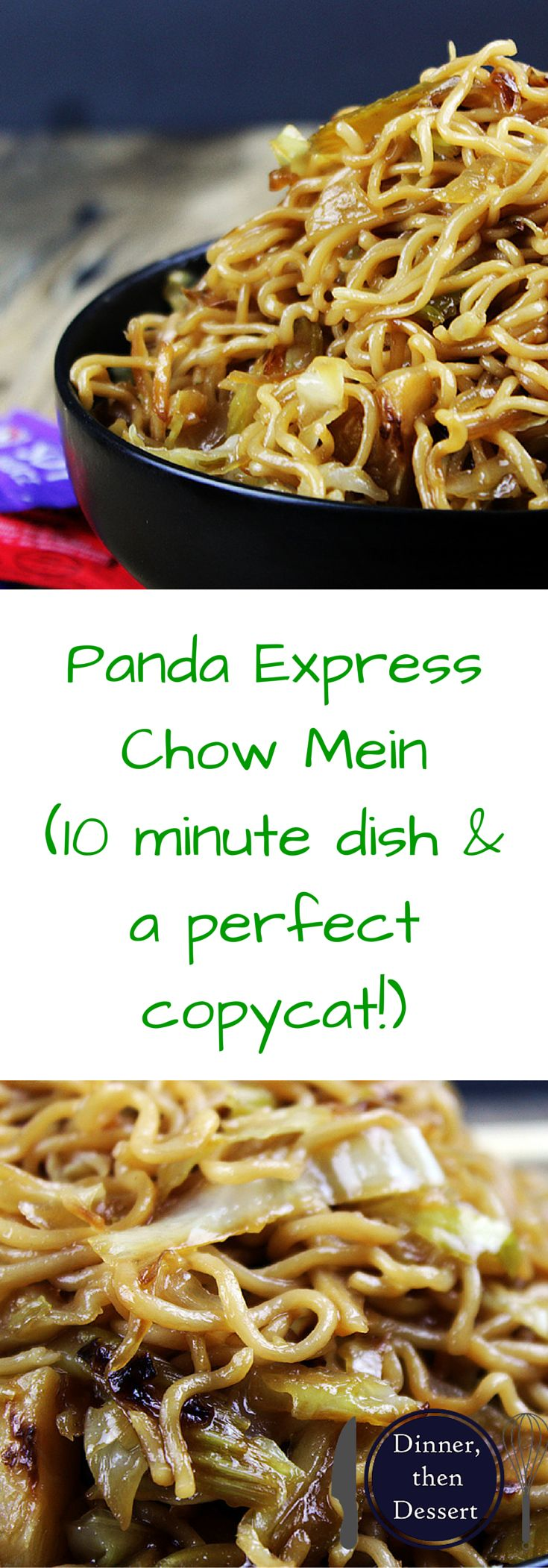 how to make chow mein sauce
