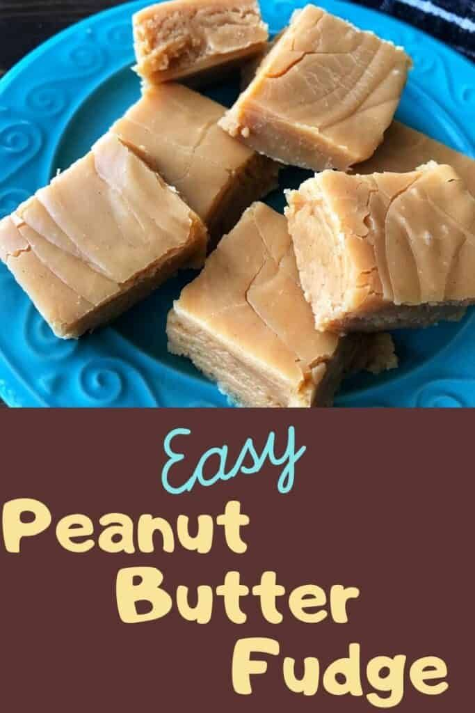 Easy Peanut Butter Fudge You Need To Try Recipe In 2020 Peanut Butter Fudge Easy Peanut Butter Fudge Recipe Easy Peanut Butter