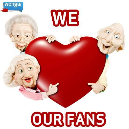We love our fans!