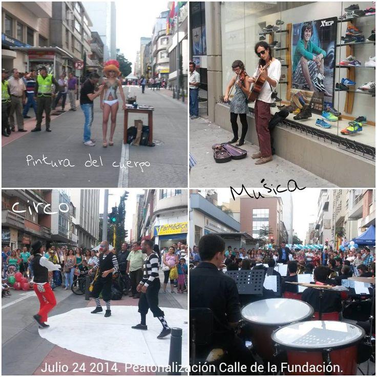 Calle 19. Peatonalización. 25 Julio de 2014