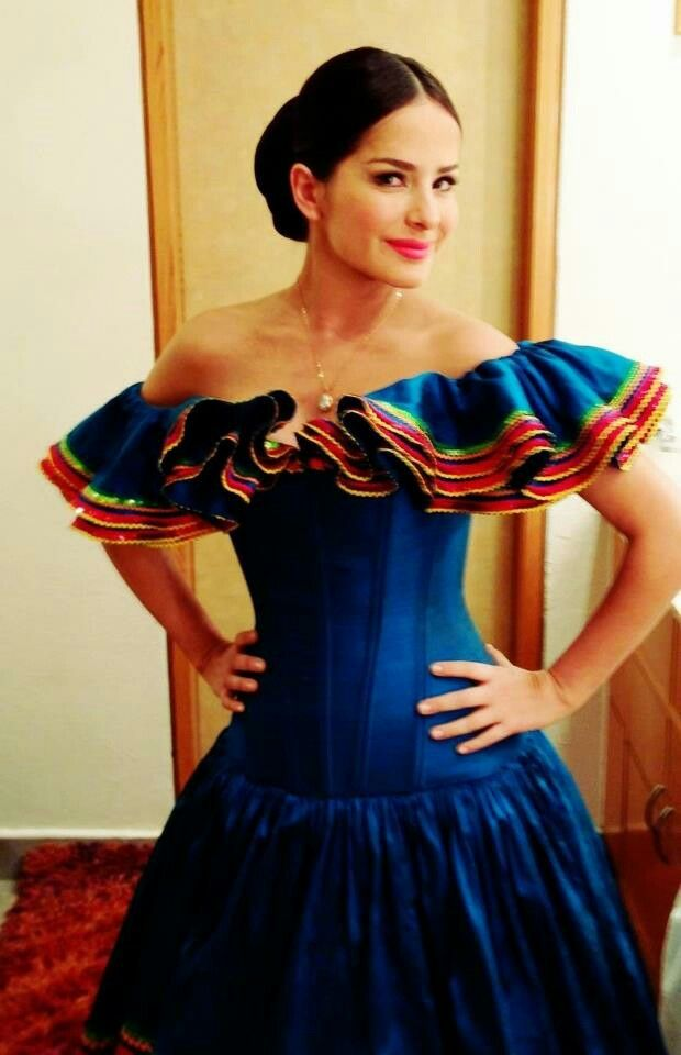 Vestido tipico mexicano