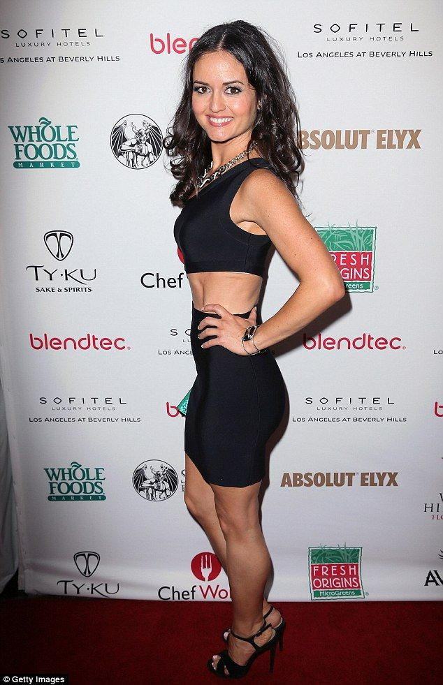 Danica McKellar Shows Off Taut Tummy And Tiny Waist In Cut