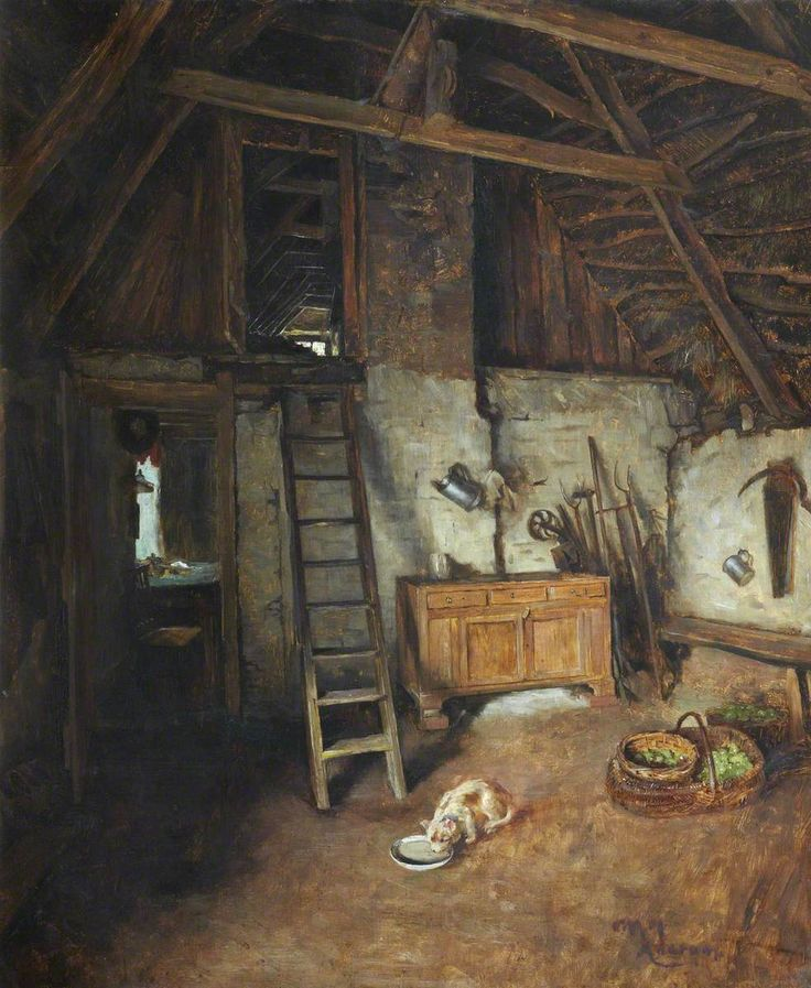 Interior, Ancrum, par Charles Martin Hardie (1858–1916) The Stirling Smith Art Gallery & Museum