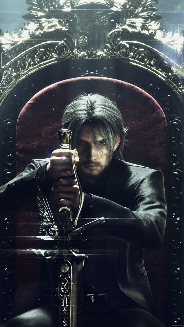 Final Fantasy Noctis Video Game Throne 720x1280 Wallpaper