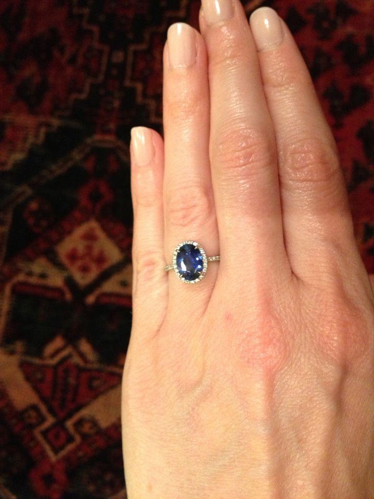 Marine - blue sapphire | Unique Engagement Rings, Conflict-Free Diamonds & Gemstones | Dana Walden Bridal