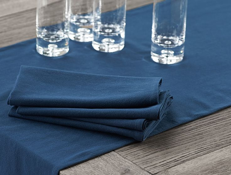 Farmhouse Napkins An everyday essential in sturdy organic cotton.